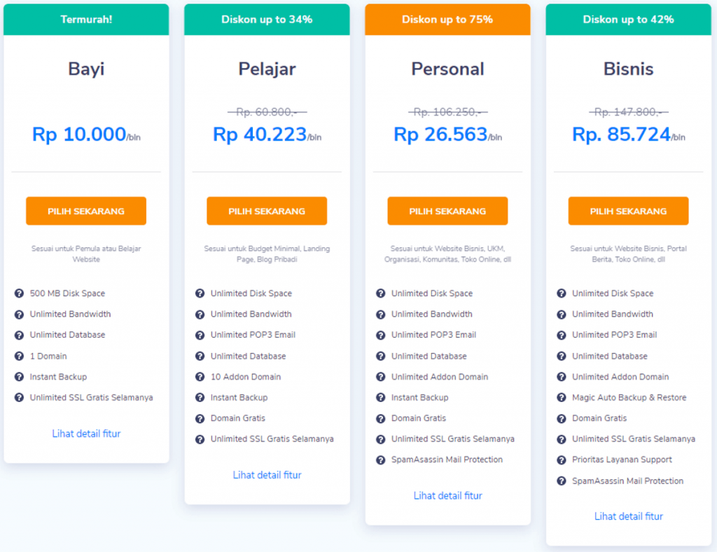 niagahoster-pricing